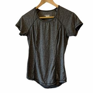 NWOT HEAD Heather Grey Workout Athletic Top XS